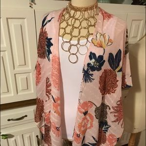 """Other - """"🌺♥️🧡NEW Floral Duster❤️🧡💜"""